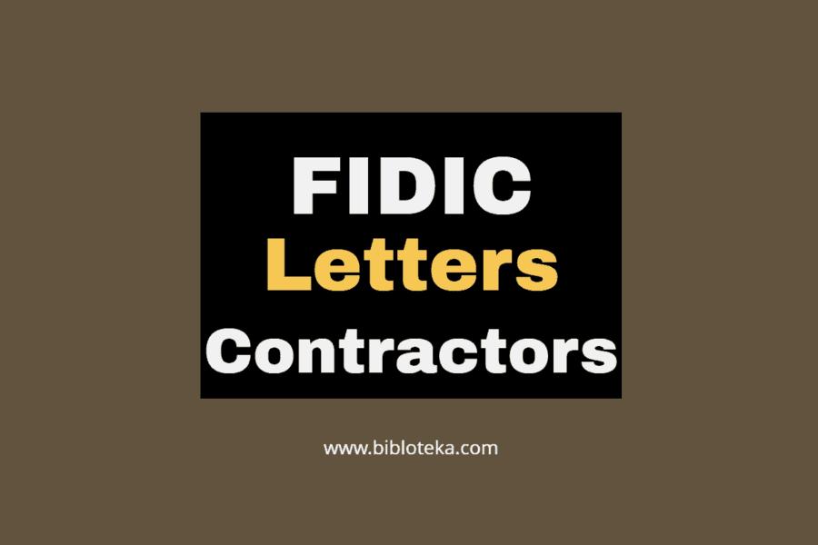 fidic contractors