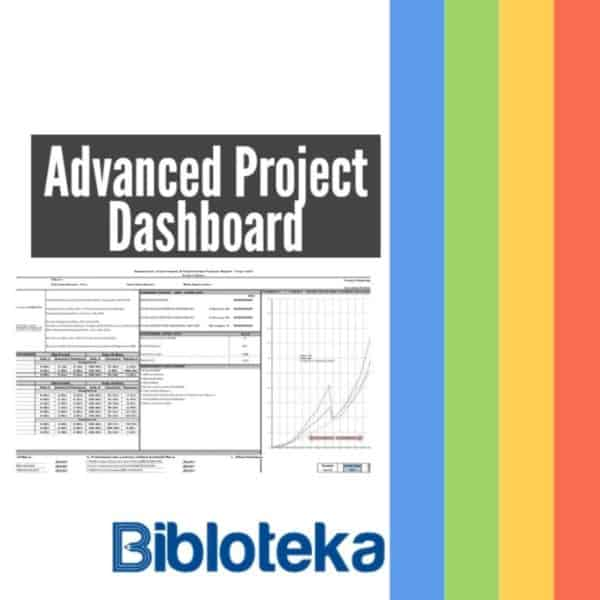Advanced Dashboard Excel Template