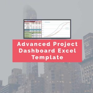 Advanced dashboard excel spreadsheet template