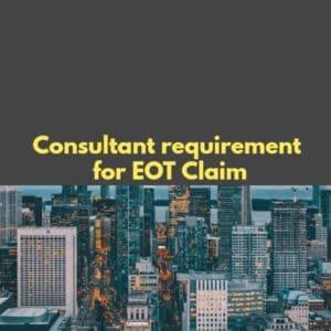EOT Claim Requirements