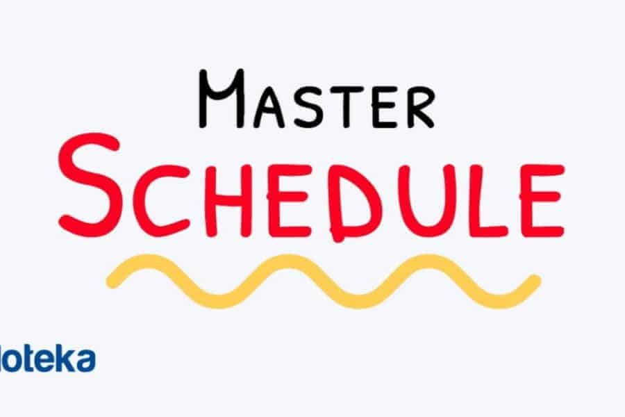 Master Schedule in Project Management
