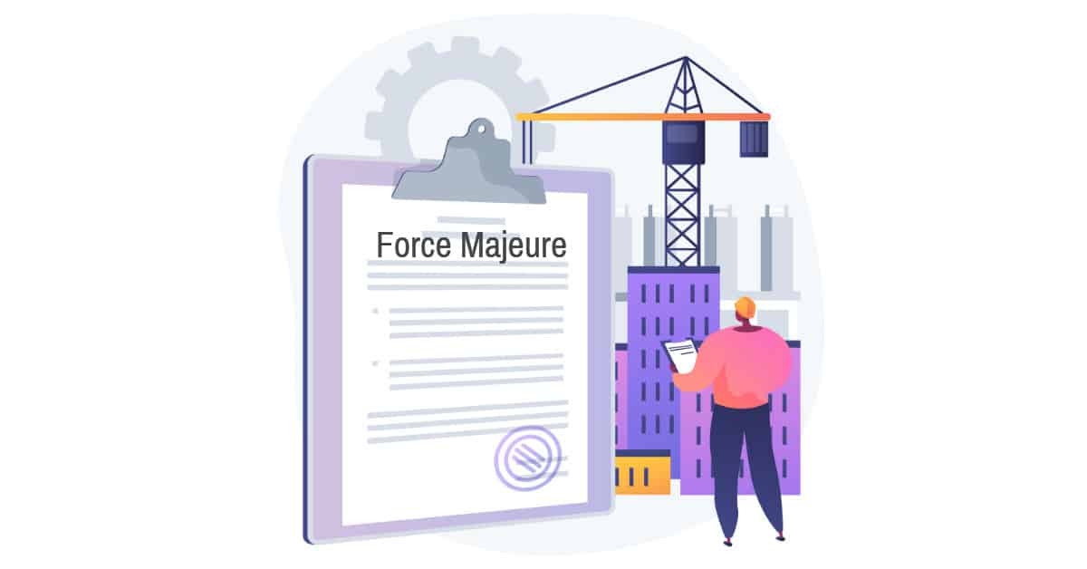 force majeure construction
