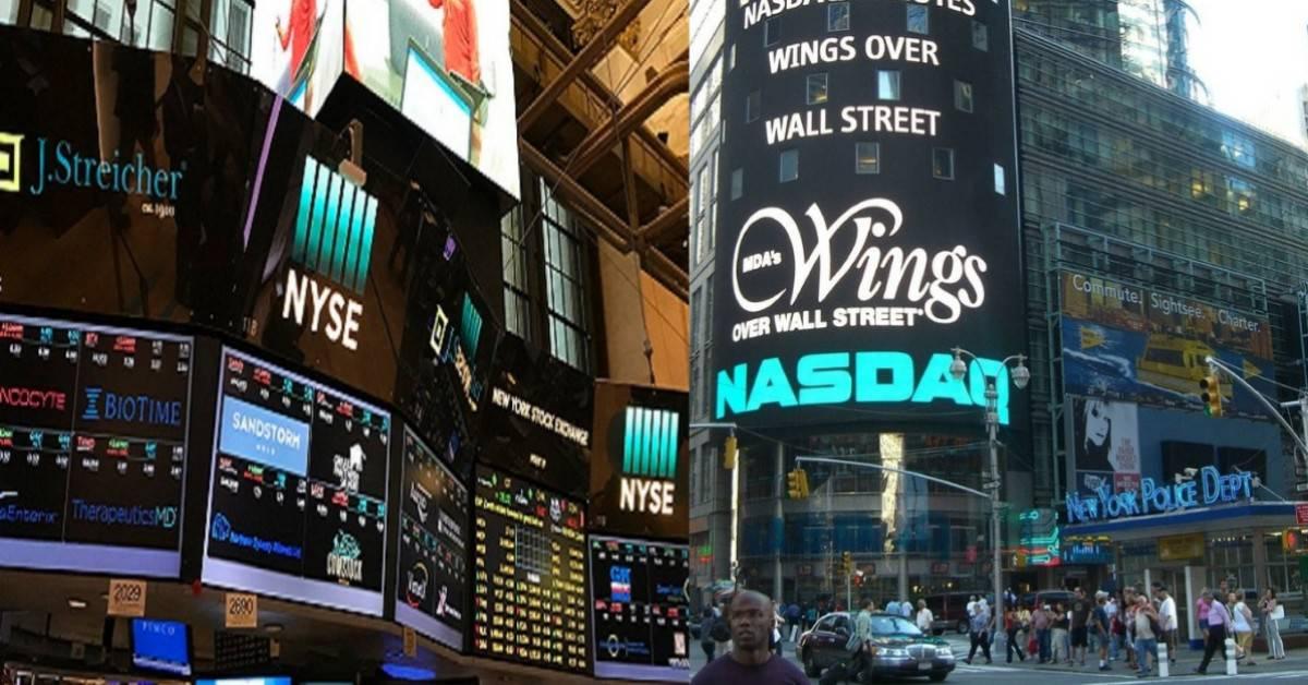 NASDAQ and NYSE