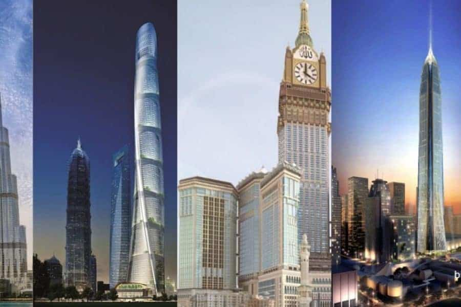 Tallest towers in the world