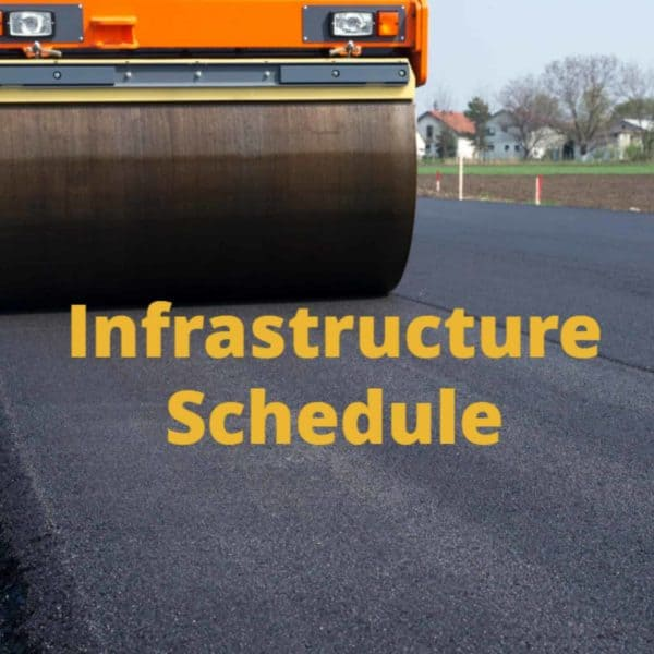 Infrastructure Schedule