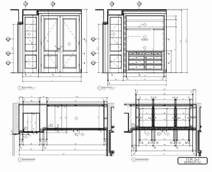 Cabinet Shopdrawings Details