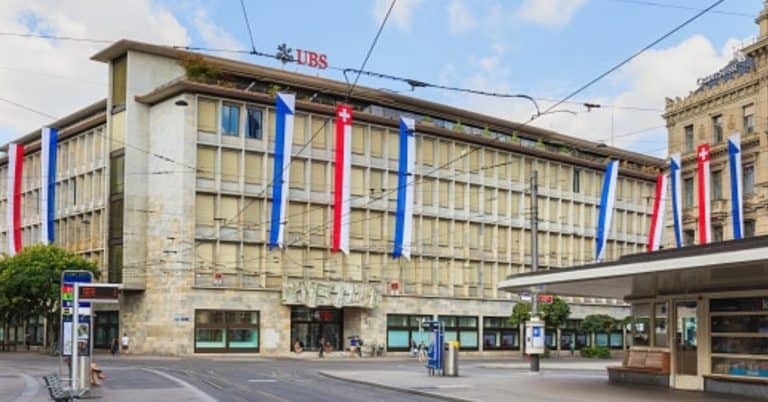 Swiss Bank Headquarters in Switzerland