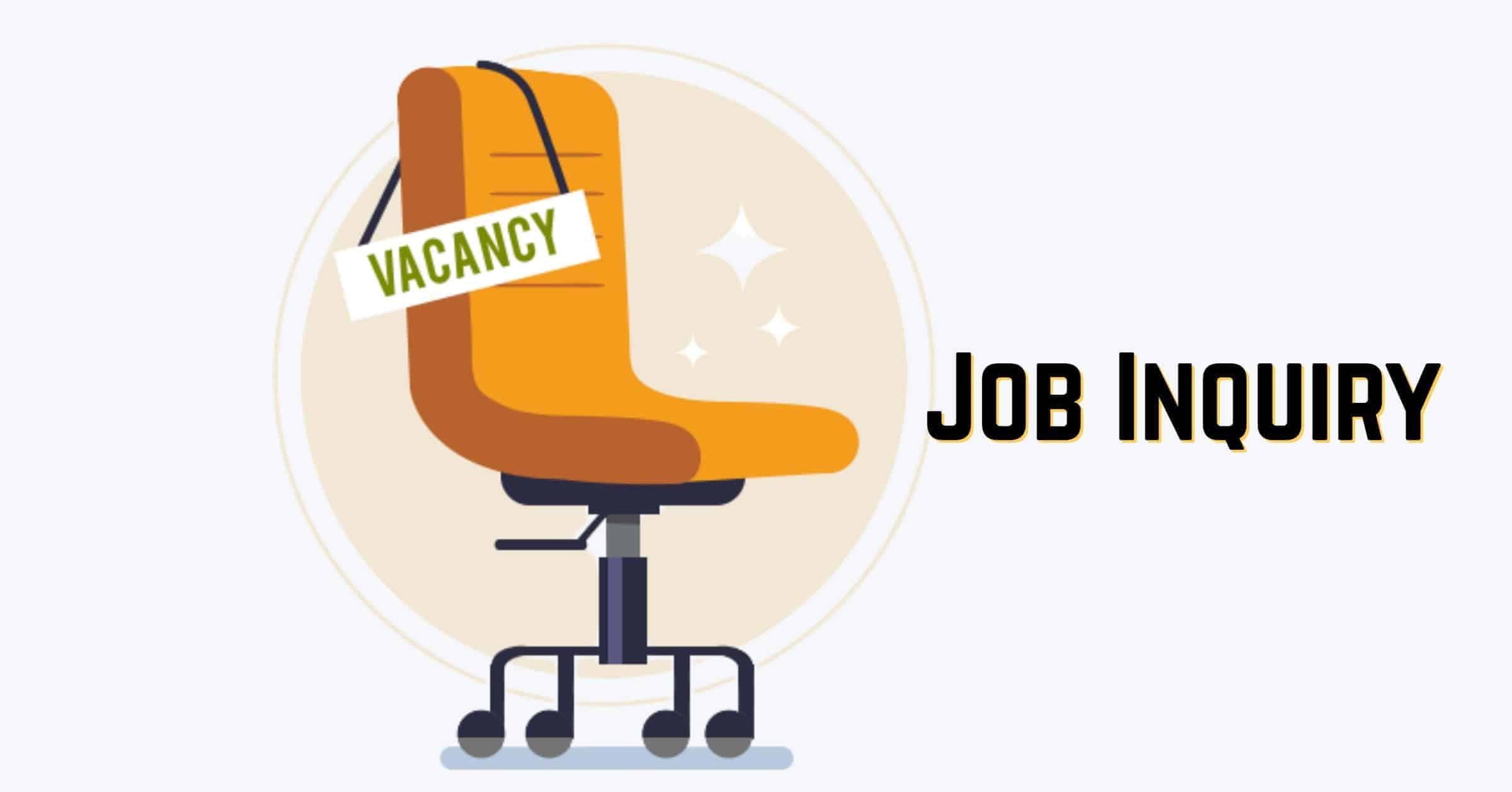 Job Inquiry